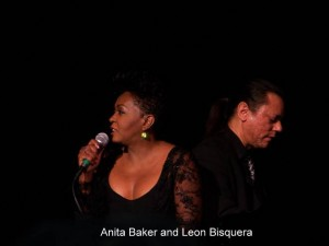 Anita Baker and Leon Bisquera