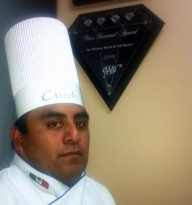 Chef Gustavo Gutierrez