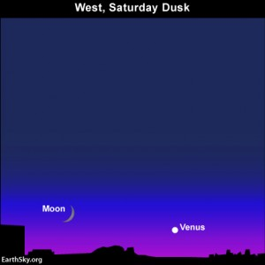 Moon and Venus Locations Saturday Aug 10,2013 13aug10_430txt1-300x300